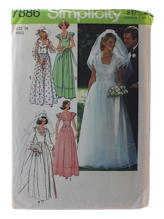 1970's Womens Bridal or Wedding Pattern