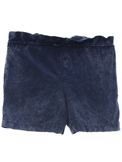 1980's Womens Acid Washed Shorts