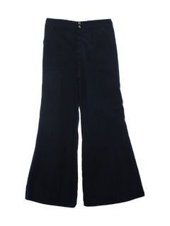 1970's Unisex Elephant Bellbottom Jeans Pants