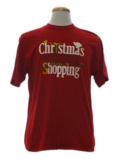 1980's Unisex Ugly Christmas T-Shirt Shirt