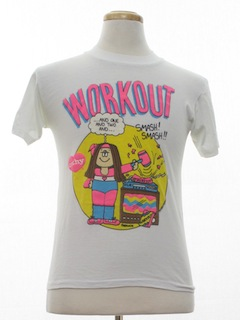 1980's Unisex Totally 80s Cheesy T-Shirt