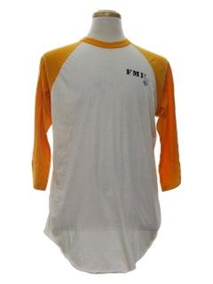 1980's Unisex Ringer T-Shirt