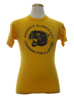 1980's Unisex School T-Shirt