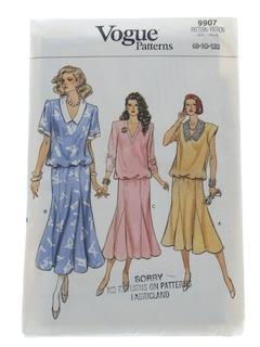 1980's Womens Pattern