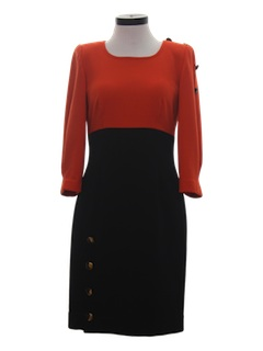 1970's Womens Cocktail Dress