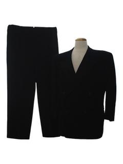 1940's Mens Tuxedo Suit