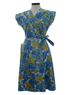 1950's Womens Fab Fifties Print Dress