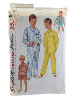 1950's Mens/Boys Pattern