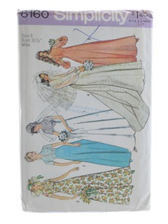 1970's Womens Bridal Pattern