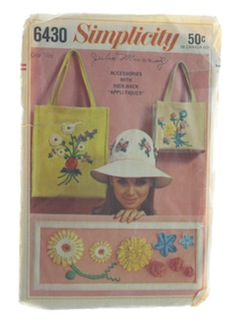 1960's Womens Craft Pattern