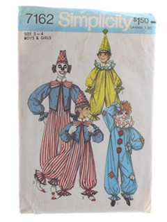 1970's Unisex/Boys/Girls Pattern