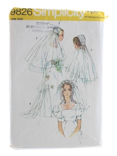 1970's Womens Wedding Pattern