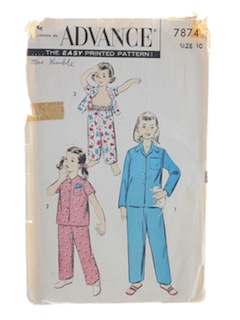 1950's Womens Childs Pattern