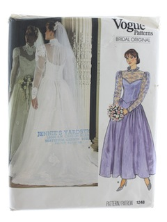 1980's Womens Bridal Pattern