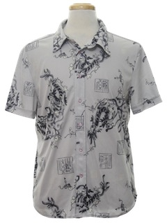 1980's Mens Totally 80s Dragon shirt
