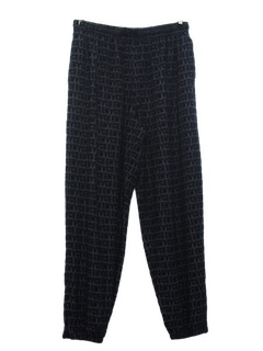1990's Mens Wicked 90s Print Baggy Sport Pants