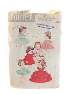 1950's Doll Pattern