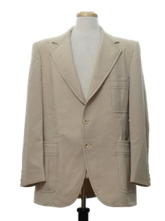1970's Mens Blazer Leisure Sport Jacket