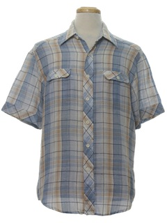 1970's Mens Hippie Shirt