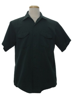 1960's Mens Uniform Work Shirt