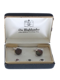 1960's Mens Accessories - Cufflinks/Studs Set