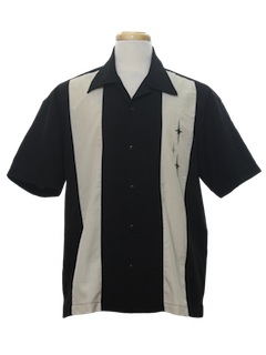 1990's Mens Rockabilly Sport Shirt