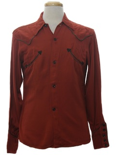 1930's Mens Western Shirt