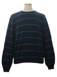 1980's Mens Totally 80s Designer Sweater