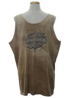 1990's Mens Wicked 90s Muscle Tank Top Motorcycle T-Shirt