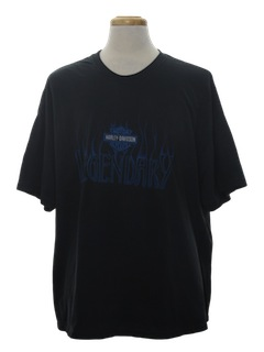 1990's Mens Harley Motorcycle T-Shirt