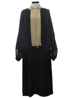 1920's Womens Silk Dress
