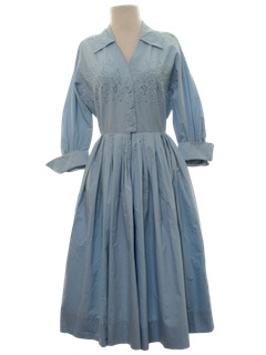 1950's Womens Fab Fifties Day Dress