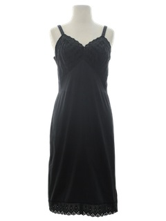 1960's Womens Lingerie Slip Dress
