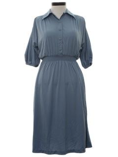 1970's Womens Disco Style Dress