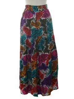 1980's Womens Hippie Skirt