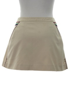 1980's Womens Tennis Skirt