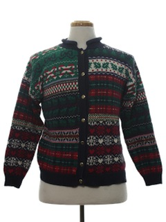 1980's Unisex Country Kitsch Ugly Christmas Sweater