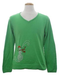 1990's Unisex Minimalist Ugly Christmas Sweatshirt