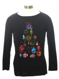 1980's Womens/Girls Ugly Christmas Sweater