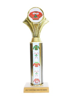 1990's Unisex Accessories - Ugly Christmas Sweater Party Trophy Award