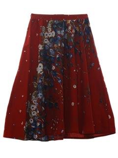 1980's Womens Skirt