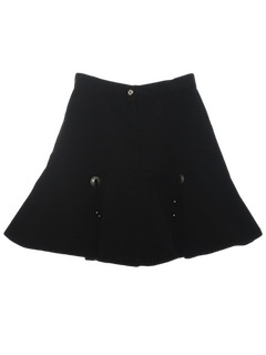 1980's Womens Mini Western Skirt