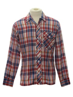 1980's Mens/Boys Shirt