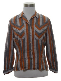 1950's Womens Western Style Shirt