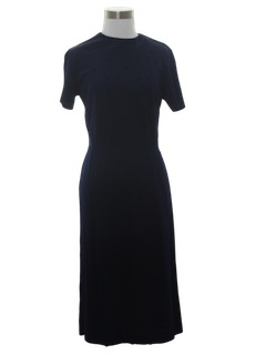 1960's Womens Semi Formal Cocktail Dress