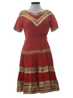 1950's Womens Western Style Square DanceDress