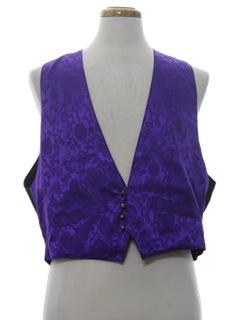 1980's Mens Gamblers Vest