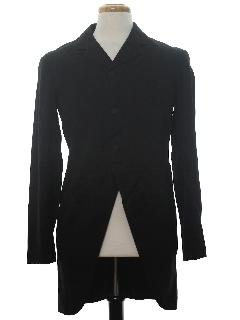 1920's Mens Victorian Cutaway Tail Coat Blazer Style Sport Coat Jacket