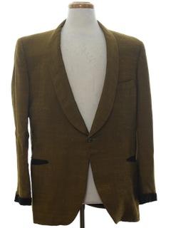 1960's Mens Tuxedo Jacket