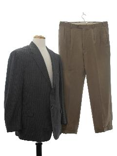 1950's Mens Combo Suit